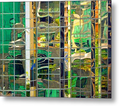 Reflection 5 Metal Print by Laurie Tsemak