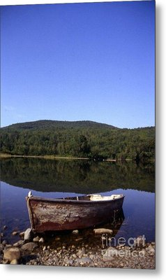 Reflection At Coffin Lake Metal Print