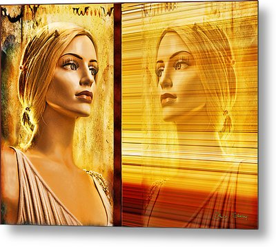 Reflection Metal Print by Chuck Staley