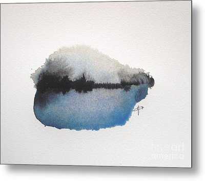Reflection In The Lake Metal Print by Vesna Antic