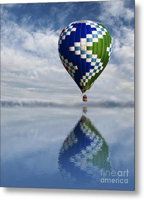 Reflection Metal Print by Juli Scalzi