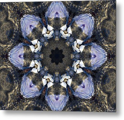 Reflection  Kaleidoscope Metal Print