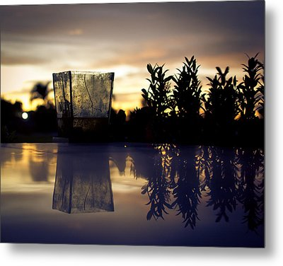 Reflection Metal Print by Kingsley  Gicalde