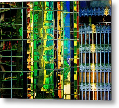 Reflection Metal Print by Laurie Tsemak