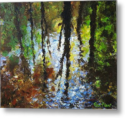 Reflection Metal Print by Peter Plant