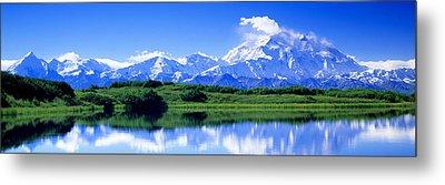 Reflection Pond, Mount Mckinley, Denali Metal Print by Panoramic Images