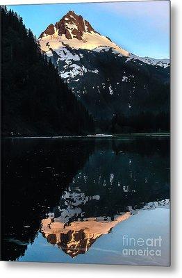 Reflection Metal Print by Robert Bales