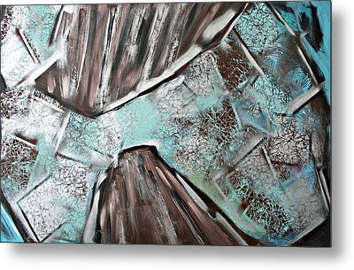 Reflection Metal Print by Victoria  Johns