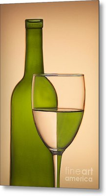 Reflections And Refractions Metal Print by Susan Candelario