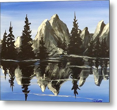 Reflections Metal Print by Darren Robinson