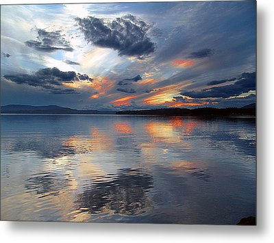 Reflections Metal Print by George Cousins