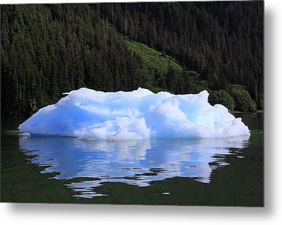 Reflections In The Sea Metal Print by Shoal Hollingsworth
