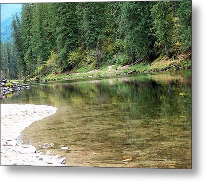 Metal Print featuring the photograph Reflections by Jewel Hengen