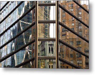 Reflections Metal Print by Joanna Madloch