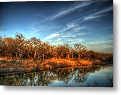 Reflections Metal Print by Kimberly Danner