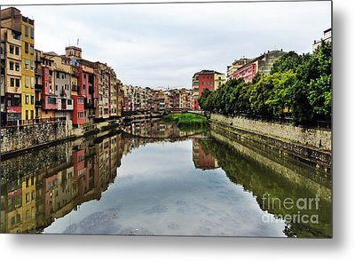 Reflections Metal Print by Marguerita Tan