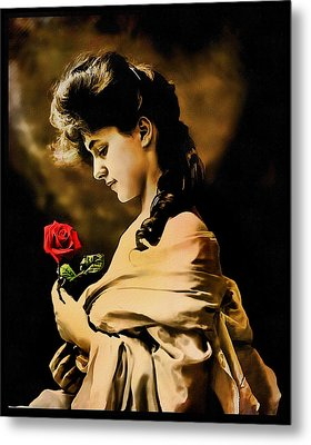Metal Print featuring the photograph Reflections by Mary Morawska
