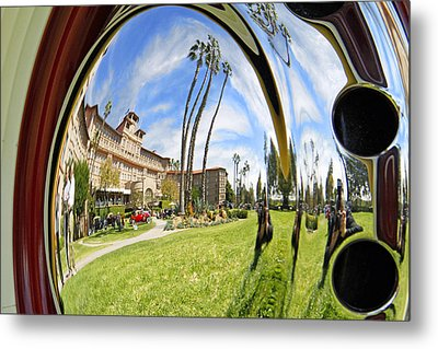 Reflections Of A 1937 Cord Metal Print