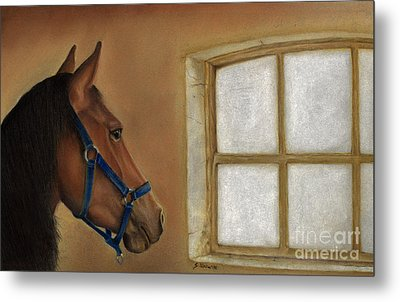 Reflections Of Days Gone By Metal Print by Sheryl Unwin