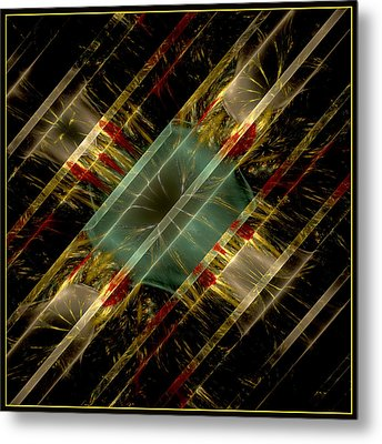Metal Print featuring the digital art Reflections Of Life by Melissa Messick