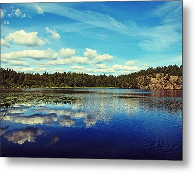 Reflections Of Nature Metal Print by Nicklas Gustafsson