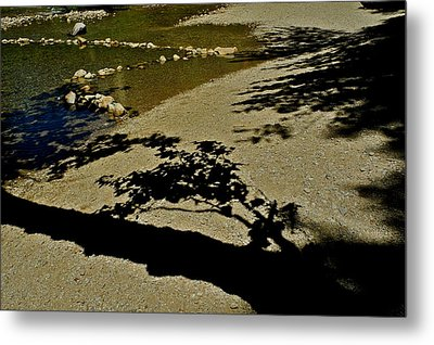 Reflections On A River Metal Print by Kirsten Giving