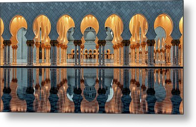 Reflections Metal Print by Stefan Schilbe