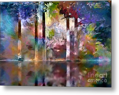 Reflections Metal Print by Ursula Freer