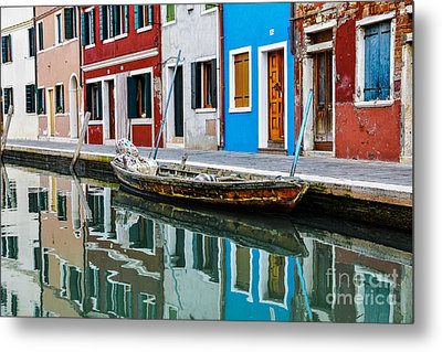 Reflections Metal Print by Yuri Santin