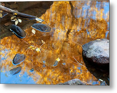 Metal Print featuring the photograph The Melting Pot by Jim Garrison