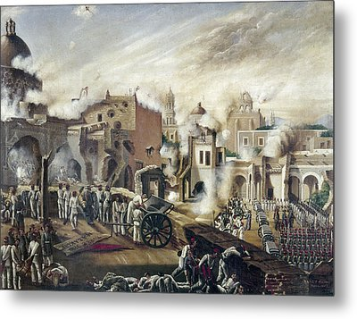 Reform War Guadalajara Metal Print by Granger