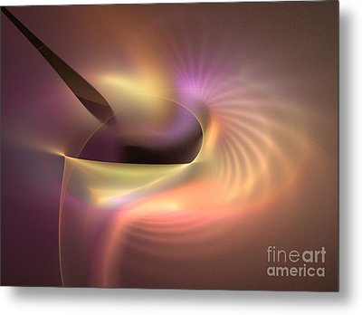 Refraction Metal Print by Kim Sy Ok