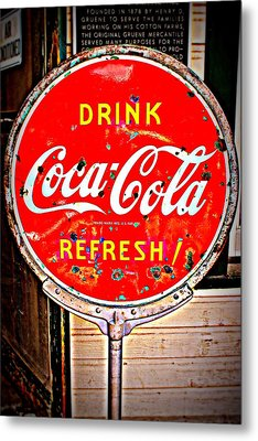 Refresh Metal Print by Beth Vincent