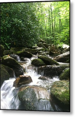 Refreshing Waters Metal Print
