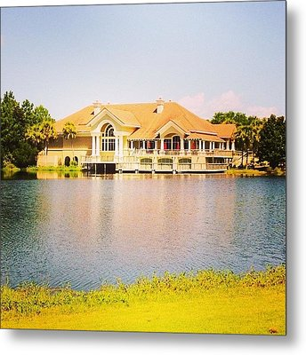 Regatta Bay #golf #destin #iphone5 Metal Print by Scott Pellegrin