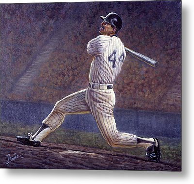 Reggie Jackson Metal Print by Gregory Perillo