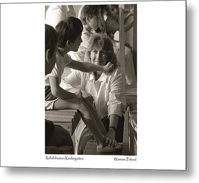 Metal Print featuring the photograph Rehabilitation Kindergarten by Tina Manley
