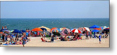 Rehobath Beach Delaware Metal Print by Patti Whitten