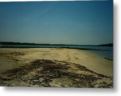 Metal Print featuring the photograph Rehoboth Bay Beach by Amazing Photographs AKA Christian Wilson