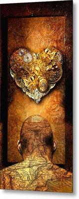 Relate Metal Print by Jacky Gerritsen