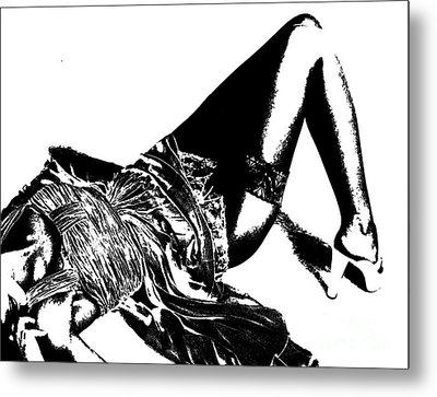 Metal Print featuring the pyrography Relax 3 by Evgeniy Lankin
