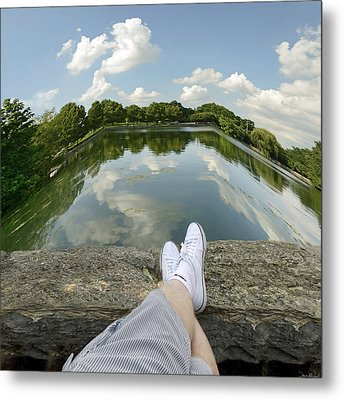Relax Metal Print by Steven  Michael