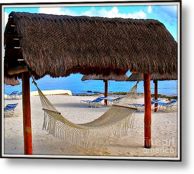 Relaxation Defined Metal Print by Patti Whitten