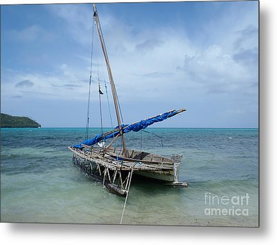 Relaxing After Sail Trip Metal Print by Jola Martysz