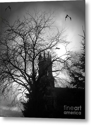 Metal Print featuring the photograph Release The Bats by Heather King