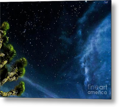 Releasing The Stars Metal Print by Angela J Wright