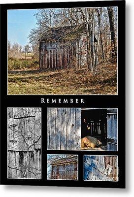 Remember Metal Print by Greg Jackson