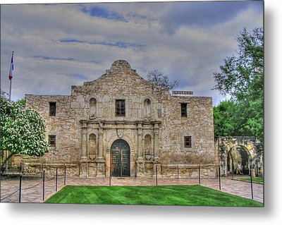 Remember The Alamo Metal Print by Barry Jones