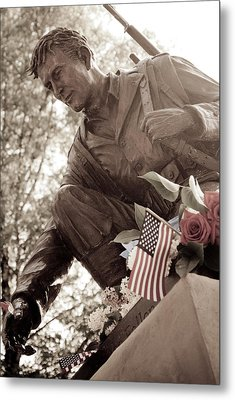 Metal Print featuring the photograph Remember The Fallen by Chris McKenna