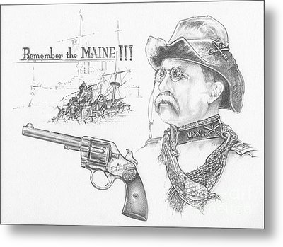 Remember The Maine Metal Print